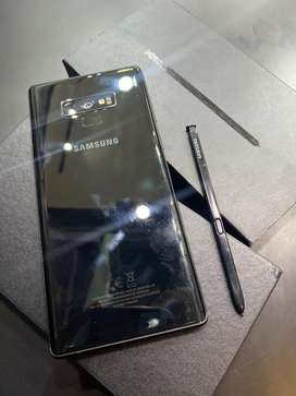 Samsung Note 9 6/128 Black Mulus Fullset
