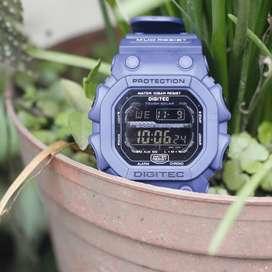 Jam tangan Galeri Jam Tangan Digitec Digital DG0664LB Cowok Brand Tern