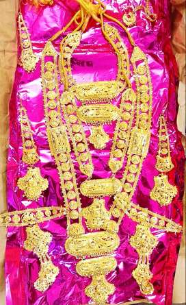 Artificial Gold jewelry set is on sell.