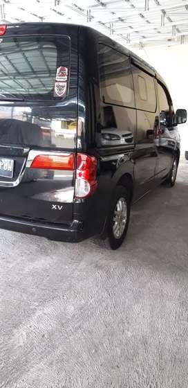 Nissan Evalia 2012 akhir type XV matic warna hitam
