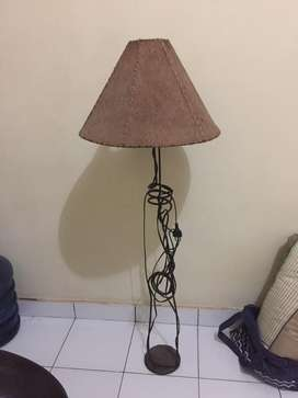 Standing Lamp free 1 cup leather