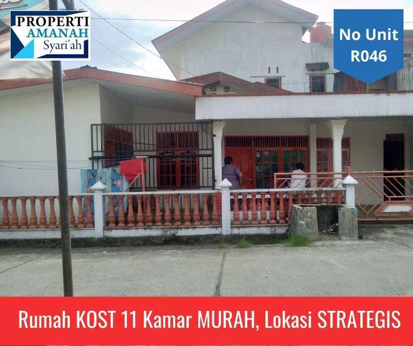 Jual Rumah Kost Murah di Padang, 2 Lantai 11 Kamar, Lokasi Strategis 0