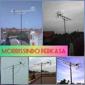 Agen Penjualan Pemasangan Jasa Service Antena TV Krukut Depok