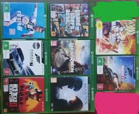 Xbox one x/s Games CD