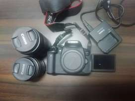 Canon 700D * Dual Lenses 18-55m I 55-250mm * Touchscreen Display