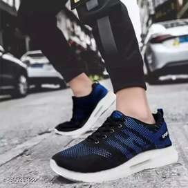 Sepatu RUNNING CASUAL SPORT HI EDITION PRIA/Wanita-Blue