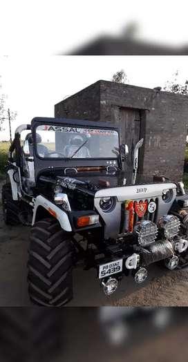 Jassal Jeep modified power steering