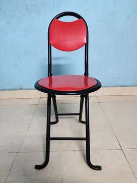 18-inch Seating Height Strong Heavy Duty Folding Chair 2 chair