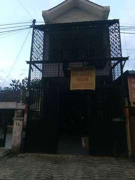 Rumah Bekas Kost dekat Sei batang hari