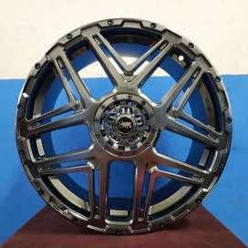 Jual Velg Mobil R18 Hyper Black Untuk Innova-Terios-Xpander-Hrv-Rush