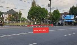 Tanah Tepi Jalan HOS Cokroaminoto Yogyakarta 5 menit ke Tugu Jogja