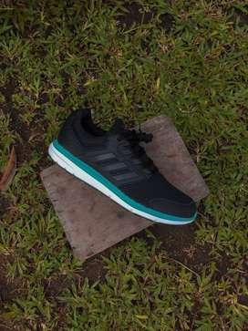 """Adidas Galaxy 4 """"black strip green"""""""