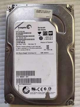 Seagate 500 gb internal HDD