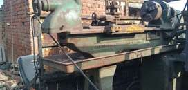 Imported Kharad machine (lathe machine)4 ft