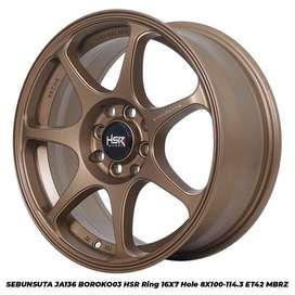 Velg Mobil Nissan grandlivina Ring 16x7 Bronze | H8x100-114,3