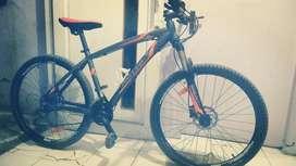 Jual sepeda united detroid 2 sudah up grade