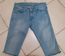 Celana Jeans 7/8 size S