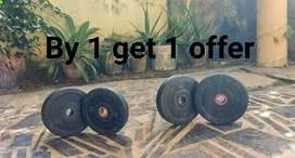 By 1 get 1 offer gym plate