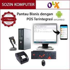 Komputer Kasir Branded HP rp5800 untuk Minimarket Pantau Jarak Jauh