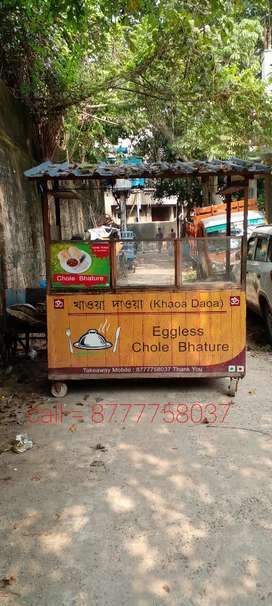 I am selling my good condition fast food stall.