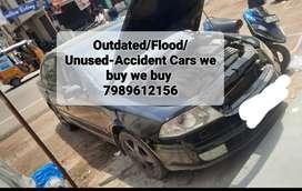 Old/Scrap/Flood/Unused/Accident Cars we buy/Scrap cars buyer