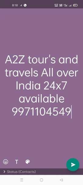 A2Z travel agency