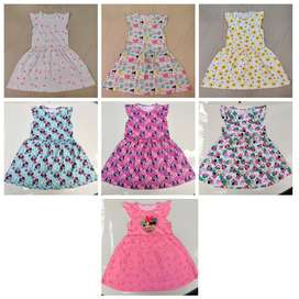 Kids Domestic Pyjama Set Export summer stocklot wholesale garments t-s