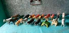 Best quality wild animals toy set for kids 19 animals toy set