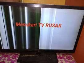 Beli-menukari tv led dan plasma kondisi rusak