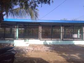 Iron roofing and side set up farming for sale and feeder