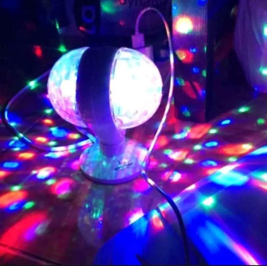 Lampu disco 2 sisi