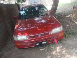 it's s toyota corrola .excellent  condition .