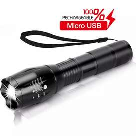 Taffled senter LED USB 10000 lumens