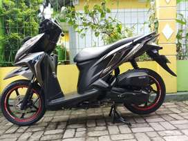 Honda vario 125cc fi cbs iss 2014 istimewa black