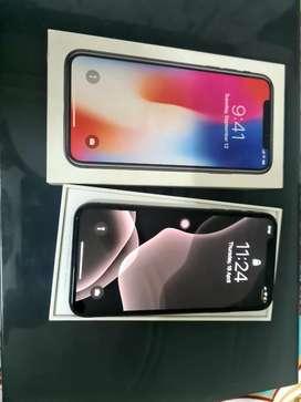 Iphone x 64 gb black colour