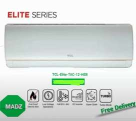 TCL dc inverter split 1 ton AC with free installation