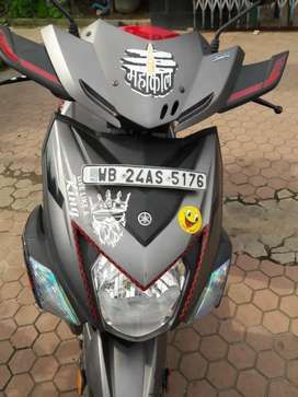 Yamaha Ray zr street rally, well maintained & good condition new scoty