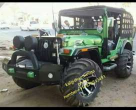 Green modified jeep
