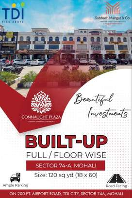 FULL/ FLOOR WISE SCO ON AIRPORT ROAD, READY TO MOVE, MOHALI