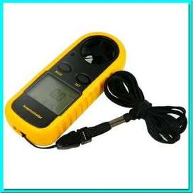 Digital Anemometer Anemo meter Thermometer Alat Ukur Kecepatan Angin