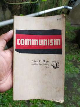 Buku Antik Communism thn 1961
