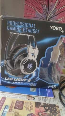YORO PROFESSIONAL GAMING HEADSET MODEL: F45