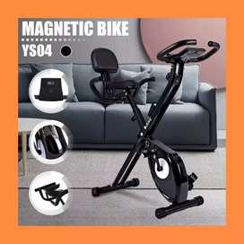 sepeda statis magentic xbike twen-450 alat olahraga