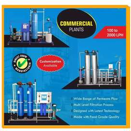 1100 LPH RO PLANT FOR WATER SUPPLY