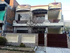 Double Portion House Available for Rent - Wah Model Town