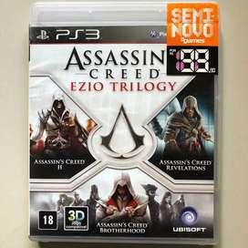 Kaset BD PS3 Assasins Creed Ezio Trilogy