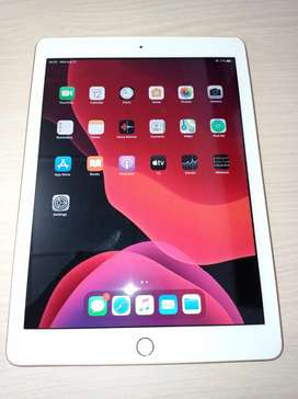 Ipad 6 128GB WiFi only gold