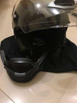 Helm Nolan N44+Sena 3s Size XL
