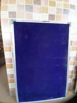 Notice board cum white board 2 by 3 ft size