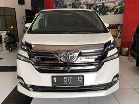 Flash Sale Toyota Vellfire G 2.5 ATPM 2016 km 61 rb Record